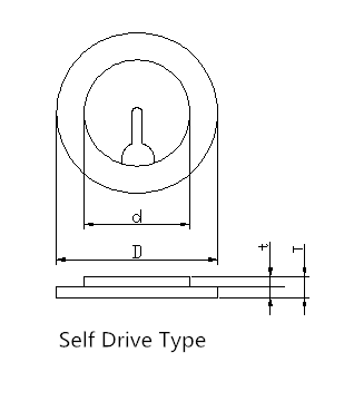 Internal Drive Piezo Element